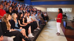 Publikum im ANNE WILL Studio © Will Media Foto: Wolfgang Borrs