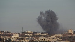 Russische Bombardements in Aleppo. © picture alliance AA Fotograf: Ahmed Muhammed Ali