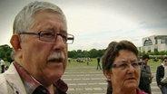 Senioren vor dem Bundestag