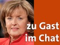 Zu Gast im Chat: Gisela Friedrichsen © dpa-Report Fotograf: Thomas  Schulze