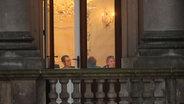 Sondierungsgespräche zwischen Union, FDP und Grüne. © dpa Fotograf: Michael Kappeler