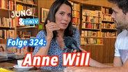 Anne Will im Gespräch mit Tilo Jung