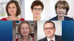 Göring-Eckardt/Kramp-Karrenbauer/Reker/Ramelsberger/Hartmann © Will Media