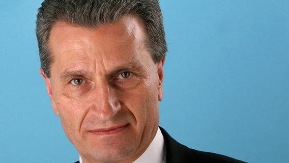 Günther Oettinger (Archivbild vom 03.12.2007) © dpa-Report Foto: Tim Brakemeier