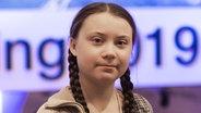 Greta Thunberg  Foto: Gian Ehrenzeller