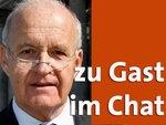 Zu Gast im Chat: Götz Werner © dpa-report Fotograf: Wolfgang Kumm