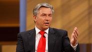 Klaus Wowereit bei ANNE WILL am 01.06.2008 © NDR Foto: Wolfgang Borrs