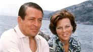 1979: Kronprinzessin Beatrix und ihr Mann Claus während des Sommerurlaubs im italienischen Porto Ercole © Picture-Alliance / dpa