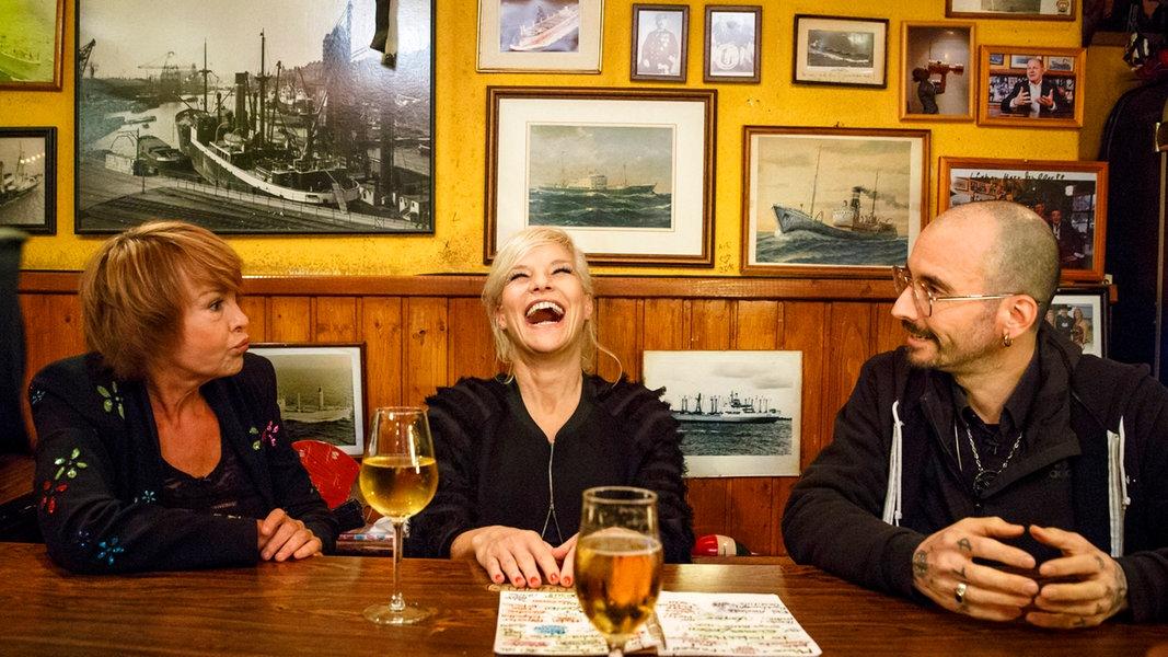 Inas Nacht mit Katrin Sass und Mark Benecke | Das Erste
