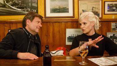 Robert Habeck mit Ina Müller bei Inas Nacht im Schellfischposten © NDR/Morris Mac Matzen Foto: Morris Mac Matzen