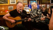 Sting und Ina Müller © NDR/Morris Mac Matzen