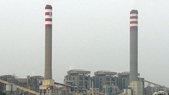 Kohlekraftwerk Shajiao C, Perlflussdelta, China. © NDR/artdocu