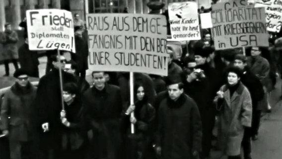 Protestierende Studenten