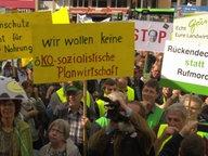 Demo gegen Agrarwende