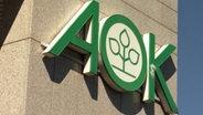 AOK-Schild