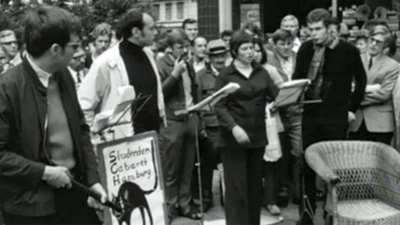 Das Studenten Cabaret Hamburg, 1970.