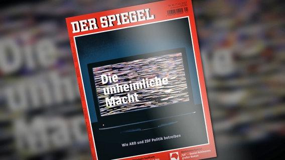 """Spiegel""-Titel © NDR Foto: Screenshot"