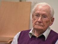 Der ehemalige SS-Mann Oskar Gröning vor Gericht.