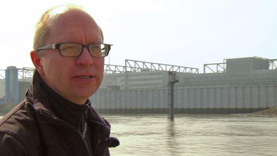 Manfred Braasch, Geschäftsführer des BUND in Hamburg