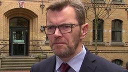 Frank Passade, Sprecher der Staatsanwaltschaft Bremen © NDR Foto: Screenshot