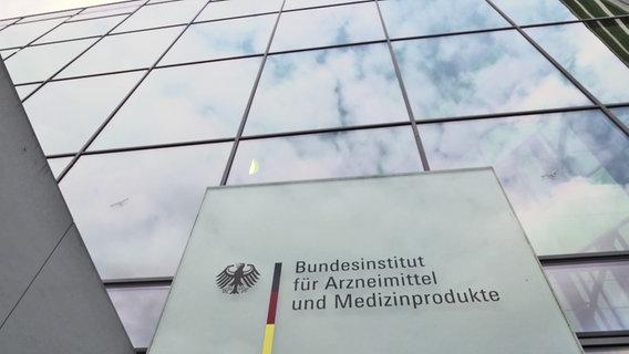 Außenansicht des Bundesinstituts für Arzneimittel und Medizinprodukte © NDR