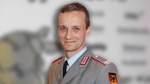 Oberstleutnant Marcel B. © NDR/ARD Foto: Screenshot