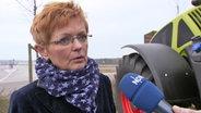 Silvia Ey vom Geflügelwirtschaftsverband Mecklenburg-Vorpommern
