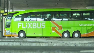 Flixbus am Busbahnhof