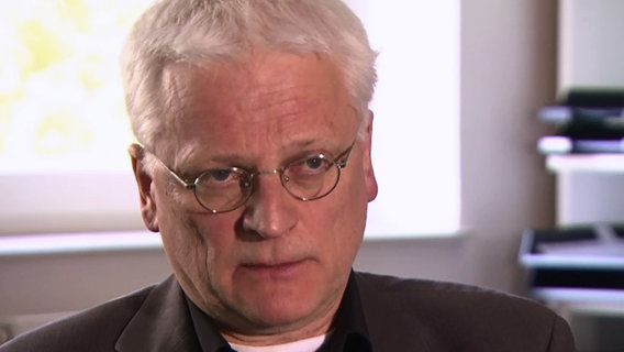 Professor Michael Lindenberg, Leiter der evangelischen Hochschule für Soziale Arbeit in Hamburg