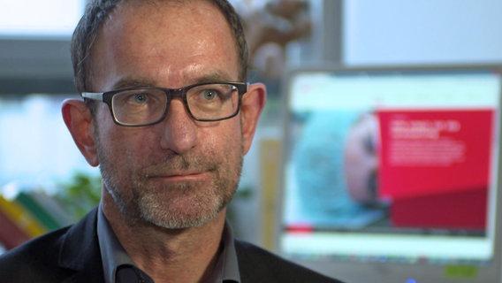 Jens Havemann von der Gewerkschaft Verdi © NDR Foto: Screenshot