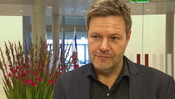 Robert Habeck, Umweltminister von Schleswig-Holstein © NDR Foto: Julian Feldmann