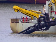 Belasteter Hafenschlick gefährdet Wattenmeer © NDR Foto: Julian Feldmann