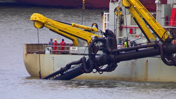 Belasteter Hafenschlick gefährdet Wattenmeer
