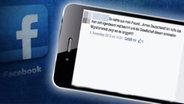 Bildmontage aus einem Hass-Post von Facebook und einem Smartphone-Bildschirm. © http://www.ruhrbarone.de Fotograf: http://www.ruhrbarone.de