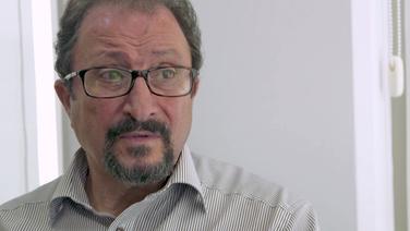 Andreas Droussiotis, Geschäftsführer der Reedereifiliale im zypriotischen Limassol © NDR Foto: Screenshot
