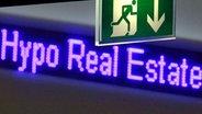 Schriftzug der Hypo Real Estate