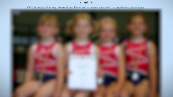 Bilder von Kindern, verfremdet © NDR /ARD Foto: Screenshot