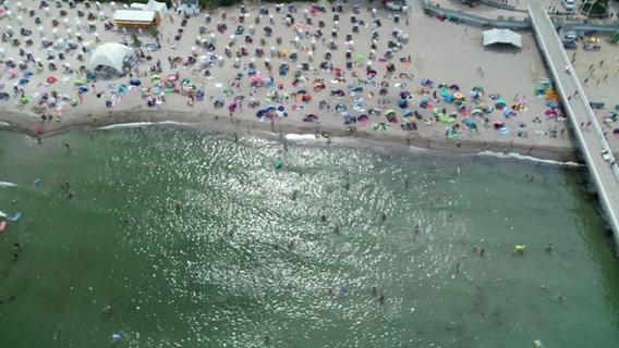 Strandaufnahme © NDR Foto: Screenshot