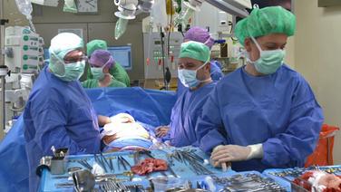 Ärzte im Operationssaal