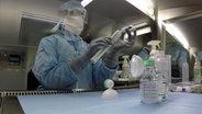 Herstellung von Krebsmedikamenten im Labor