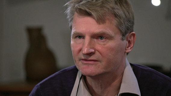 Urlich Hölscher, Vater von Finn Bogumil © NDR Foto: Screenshot