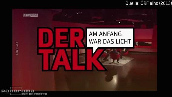 """""""Am Anfang war das Licht"""" - der umstrittene Film wurde zur besten Sendezeit im österreichischen Fernsehsender """"ORF eins"""" ausgestrahlt. © NDR Foto: Screenshot"""