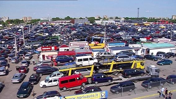 Automarkt in Litauen
