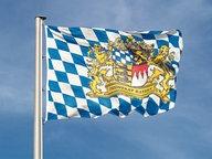 Flagge von Bayern © picture-alliance/chromorange Foto: Renate Krafft / CHROMORANGE