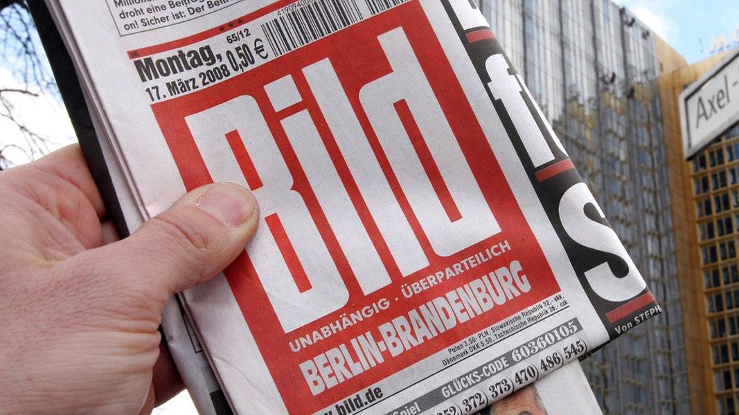 Drohen und Einschüchtern - die miesen Methoden der Bild-Zeitung | Das Erste  - Panorama - Sendungen - 2006
