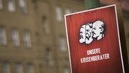 DKP-Wahlplakat © dpa - Report Foto: Arno Burgi