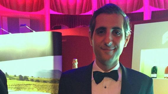 Michel Abdollahi beim Deutschen Fernsehpreis
