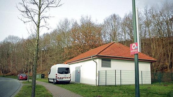 Ein Fernwärme-Blockheizkraftwerk in Schleswig-Holstein. © ARD / NDR