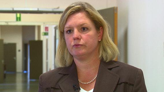 Nana Frombach, Sprecherin der Staatsanwaltschaft Hamburg