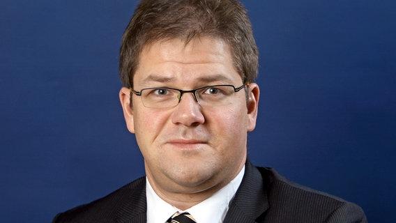 Holger Apfel (NPD), Fraktionsvorsitzender der NPD im Landtag Sachsen © dpa - Report Foto: Ralf Hirschberger